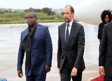 Arrivée au Maroc du président de la République de Sierra Leone Julius Maada Bio