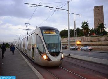 STRS, EIB Sign Loan Agreement to Finance Extension Project of Rabat-Salé Tramway