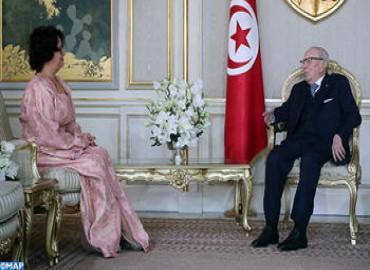 El presidente tunecino saluda el liderazgo y la clarividencia de SM el Rey Mohammed VI