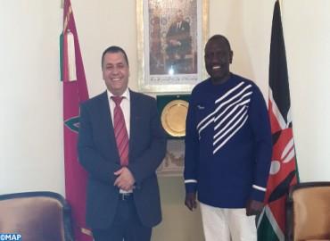 نائب الرئيس الكيني : مخطط الحكم الذاتي تحت السيادة المغربية هو أفضل حل لقضية الصحراء
