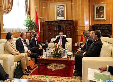 التعاون الثنائي محور محادثات بين السيد أوجار ووزير الخارجية الدانمركي
