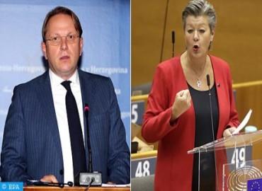 Les commissaires européens Johansson et Várhelyi mardi au Maroc