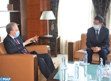 النموذج التنموي الجديد محور مباحثات بين السيد الحليمي وسفير الصين بالرباط