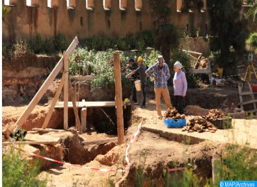 Archaeological Remains Discovered in Old Medina of Salé