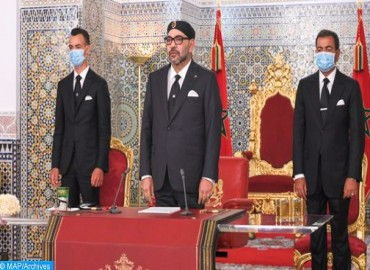 HM the King Delivers a Speech to the Nation on Throne Day