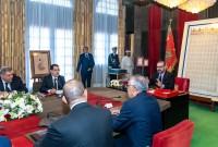 SM el Rey Mohammed VI preside, en el Palacio Real de Rabat, una sesión de trabajo dedicada al seguimiento de la cuestión de la cualificación y la modernización del sector de la formación profesional