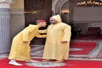 SM el Rey Mohammed VI, Amir Al Muminin (Comendador de los Creyentes), cumple la oración de Aid Al Fitr y recibe las felicitaciones con motivo de esta feliz ocasión