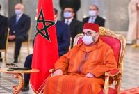 SM el Rey Mohammed VI preside en el Palacio Real de Fez la ceremonia del lanzamiento del proyecto de generalización de la protección social y de la firma de los primeros convenios correspondientes