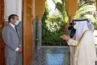 SAR el Príncipe Moulay Rachid recibe al ministro de Asuntos Exteriores de Kuwait, portador de un mensaje del Emir del Estado de Kuwait a SM el Rey