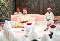 Sa Majesté le Roi Mohammed VI préside, au Palais Royal à Casablanca, la deuxième causerie religieuse du mois sacré de Ramadan