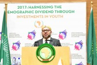 HM King Mohammed VI deliveres a speech at the 28th African Union (AU) Summit held in Addis Ababa