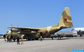 Llegan a Túnez cuatro aviones con la ayuda médica de emergencia ordenada por SM el Rey