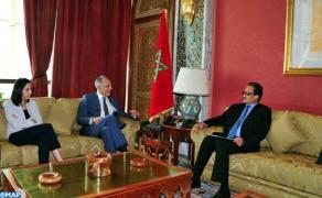 السيد صلاح الدين مزوار يستقبل وزير الشؤون الخارجية والتعاون الموريتاني