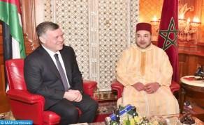 SM el Rey Abdallah II de Jordania visita a Marruecos del 22 al 24 de marzo
