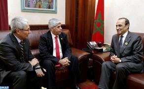 Una delegación parlamentaria de Perú realiza una visita a Marruecos