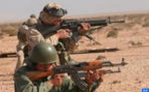 """El ejercicio """"African Lion 2017"""", pilotado """"brillantemente"""" por los ejércitos marroquí y norteamericano"""