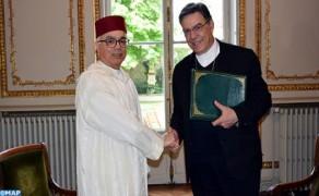 Paris Archbishop Thanks HM the King for Moroccan Grant to Rebuild Paris Notre-Dame Cathedral