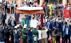 The Official Visit of HM The King to Guinea