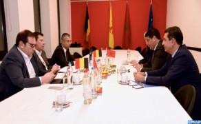 La cooperación descentralizada centra entrevista entre Bakkoury y el vicepresidente del Gobierno de la Comunidad de Valonia-Bruselas