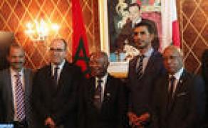 Benchamach se reúne con el presidente del Senado de Madagascar para examinar los medios de consolidar la cooperación bilateral