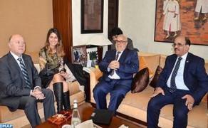 Benkirane recibe a una delegación del grupo parlamentario de amistad Chile-Marruecos