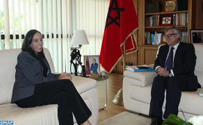 السيدة بوعيدة تتباحث مع كاتب الدولة الإسباني في الشؤون الخارجية