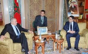Bourita se reúne con el presidente del Parlamento Latinoamericano