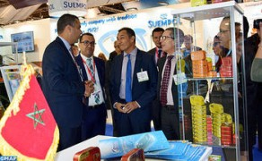 Moroccan Pavilion Inaugurated in 'Seafood Expo Global'