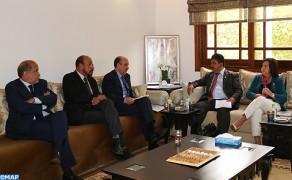 Las últimas evoluciones de la cuestión del Sahara centran entrevista entre Ould Errachid y el presidente del parlamento Centroamericano