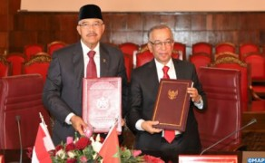Morocco's CSPJ, Supreme Court of Indonesia Sign MoU in Judicial Field