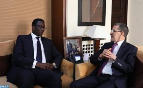 Head of Government Holds Talks with Senegalese FM