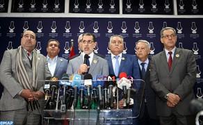 M. El Othmani : la majorité gouvernementale comprendra le PJD, le RNI, l'UC, le MP, l'USFP et le PPS