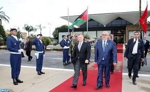 Le Souverain du Royaume Hachemite de Jordanie quitte Rabat au terme d'une visite officielle au Maroc