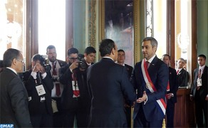 Lower House Speaker Represents HM the King at Inauguration Ceremony of Paraguay's President