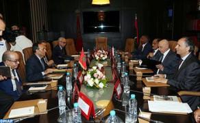 El Malki reitera el apoyo de Marruecos a Libia