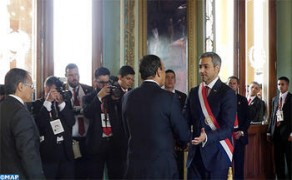 Habib El Malki representa a SM el Rey en la ceremonia de investidura del presidente paraguayo