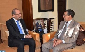 Head of Government, Jordanian Foreign Minister discuss the means to promote trade between the two countries