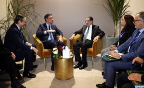 Government Chief Meets in Marrakesh with Spanish PM