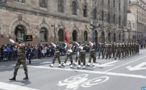 FAR Detachment Participates in Traditional Military Parade to Commemorate Mexico Independence