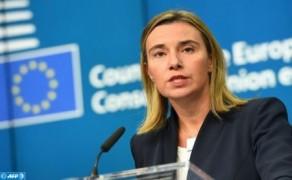 Mogherini inicia hoy miércoles una visita a Marruecos para consolidar la dinámica de reactivación de las relaciones entre la UE y Marruecos