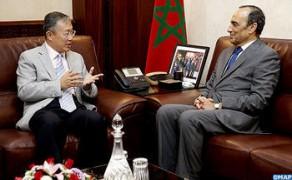 El Malki y el embajador de China destacan la importancia de consolidar las relaciones bilaterales