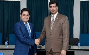 El vicepresidente de la República de Surinam recibe a Nasser Bourita
