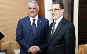 El jefe del Gobierno se entrevista con el ministro de Relaciones Exteriores de la República Dominicana