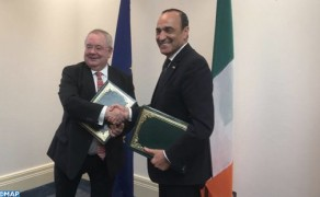 Morocco, Ireland Ink MoU to Foster Parliamentary Cooperation