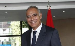 M. Mezouar en visite de travail au Qatar