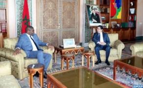 FM Holds Talks with Liberian Peer