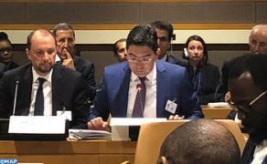 Nasser Burita participa a la 73º sesión de la Asamblea General de las Naciones Unidas