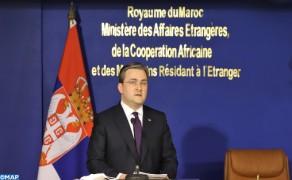 La cooperación Marruecos-Serbia adquirirá una nueva dimensión en un futuro próximo (ministro serbio
