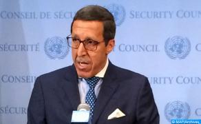 رئيس إفريقيا الوسطى يستقبل السيد عمر هلال
