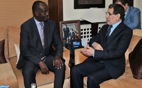 Head of Government Meets with Rwandan FM